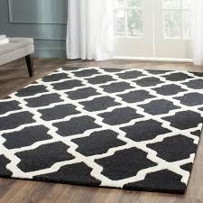 inspiring safavieh moroccan rug in handmade cambridge black wool free