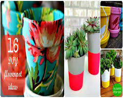 Pot Decoration Designs 100 Creative DIY Flowerpot Ideas 88