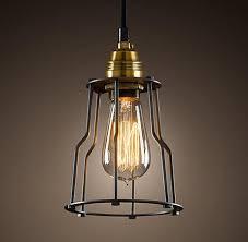 restoration hardware pendant lighting fixtures. cage filament pendant - ceiling restoration hardware lighting fixtures l