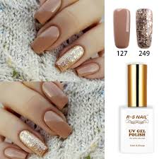 French Gel Nail Designs Us 2 55 30 Off Rs Nail 15ml Uv Led Gel Nail Polish No 127 249 Gel Varnish Nail Design French Manicure Recommended Unhas De Gel Manicure In Nail Gel