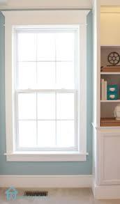 Window For Living Room 25 Best Ideas About Window Crown Moldings On Pinterest Window