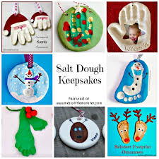 How To Make Salt Dough  Messy Little MonsterSalt Dough Christmas Gifts