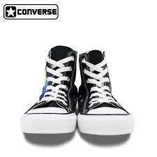 converse womens shoes. aliexpress.com : buy sailor moon women men\u0027s converse chuck taylor skateboarding shoes hand painted canvas man woman high sneaker gifts from womens 9