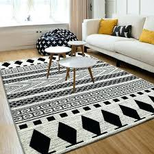 black and white geometric rug rugs modern decorative black white geometric rug black white geometric rug