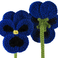 Knitted Flower Pattern Extraordinary Flower Knitting Patterns In The Loop Knitting