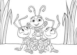 Small Picture A bugs life coloring pages MovieCartoon Color Pgs Pinterest