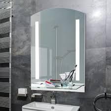 bathroom mirrors. Wall Mounted LED Illuminated Bathroom Mirror Mirrors