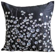 Rhinestone Decorative Pillows