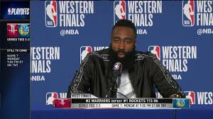 James Harden | Game 6 Western Conference Finals Press Conference