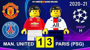 Manchester United vs PSG 1-3 • Champions League 20/21 Paris Saint-Germain  All Goals Highlights Lego - YouTube