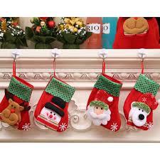 Us 076 18 Offkleine Pailletten Weihnachtsstrumpf Weihnachten Dekorationen Kinder Geschenk Candy Tasche Weihnachtsmann Socken Christbaumschmuck