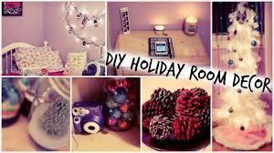 easy diy christmas room decorations. diy holiday room decorations + easy ways to decorate for christmas // tumblr inspired - youtube diy e