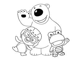 Pororo coloring sheet for kids - Coloring pages for kids on ...