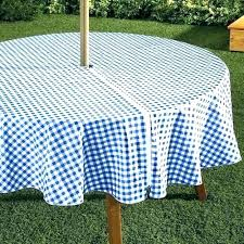 outdoor tablecloths round patio tablecloth rectangular decorating ideas for small bathrooms with la hole vinyl target fitted umbrella outd