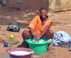 woman washing clothes by hand. Perfect Hand In Woman Washing Clothes By Hand Y