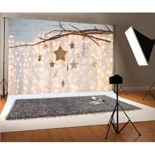 Photo Booth Design Us 7 8 35 Off Huayi Backdrop For Newborn Christmas Pictures Vinyl Photo Booth With Lights And Stars Design Xt 7291 In Background From Consumer