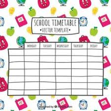 Image Result For Designs For Time Table Charts | Class 1C ...
