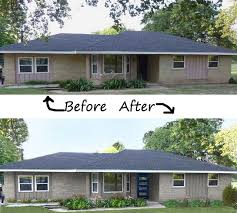 Home Exteriors Before And After Style Custom Inspiration Ideas