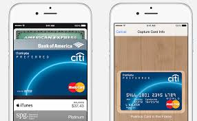 apple pay allows you to easily scan cards into the pbook app but citi is