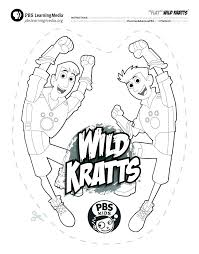 Wild Kratts Printable Coloring Pages At Getdrawingscom Free For