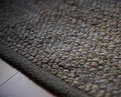 portland jute rug in grey haiku designs