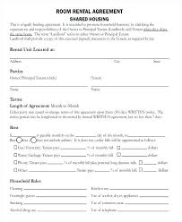 room rental agreements california room rental agreement doc template in contract california
