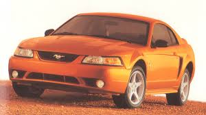 Mystic Gold 2000 Ford Mustang SVT Cobra Millennium Coupe ...