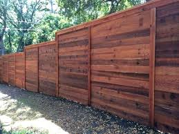 cost for privacy fence horizontal privacy fence horizontal cedar privacy fence w cap trim stained traditional cost for privacy fence