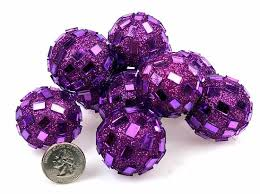Purple Decorative Balls