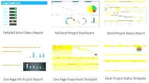 Excel Project Report Template Woodnartstudio Co