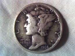 Us Dime Value Chart Mercury Dimes See How Much A Mercury Dime From 1916 To 1945