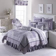 Lavender Rose Patchwork Quilt by Donna Sharp & Quilt, Lavender Rose ... Adamdwight.com