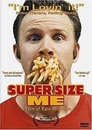 Amazon.com: Super Size Me [DVD]: Morgan Spurlock, Daryl Isaacs, Lisa  Ganjhu, Morgan Spurlock, Morgan Spurlock, Kathbur Pictures, Morgan  Spurlock: Movies & TV