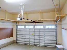 our big shelf custom garage overhead storage installation