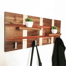 Wooden Coat Rack Stand Handcrafted Wood Coat Rack Modern Coat Rack Coat Rack Stand 39