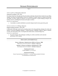 Resume Example - Investment Banking | CareerPerfect.com