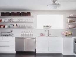 Stainless Shelves Kitchen Wall Mount Stainless Steel Shelves Wall Shelf On The Wooden Wall