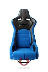 Reviews of Cipher Auto Viper Racing Seats -Blue Cloth w <b>Black</b> ...