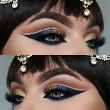 cleopatra eyes jewelry from s used dipbrow in dark brown eyeshadows in frappe wildwest from and star cobalt noir glowkit from lashes lashes