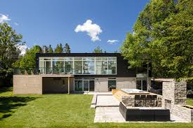 modern architectural designs for homes.  Designs View In Gallery Modern Riverside Home Christopher Simmonds Architect 1  Backyard Thumb 630xauto 46019 Modern Riverside Home By Christopher To Architectural Designs For Homes H
