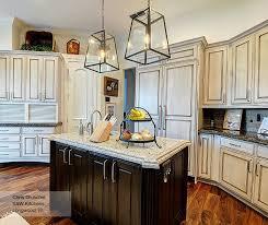 dark wood kitchen cabinets. Simple Dark Red Oak Kitchen Cabinets New F White With A Dark Wood  Island Omega Of In