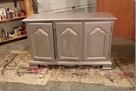 How To Antique Metallic Furniture Paint Using Caromal