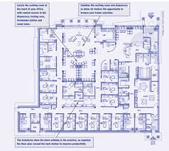 Medical office layout floor plans Front Office Review Of Optometry Game Plan For Better Office Design