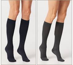 Legacy Legwear Size Chart Legacy 20 30 Mmhg Graduated Compression Socks Set Of 2 Qvc Com