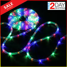 Led Mesh Rope Lights 120 Led Rope Lights Battery Operated String 40 Ft 8 Mode With Remote Christmas