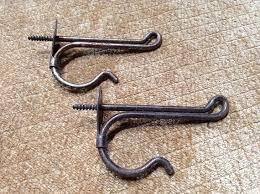 vintage hooks in hooks coat hooks