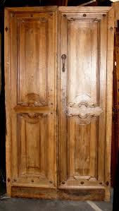 Antique entry door (ptci262) walnut wood. age 1820, meas. h cm 200 ...