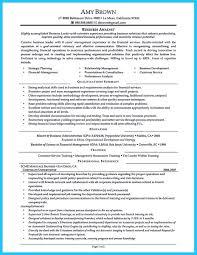 Sample Resume For Management Position Sample Resume for Business Management Position Krida 35