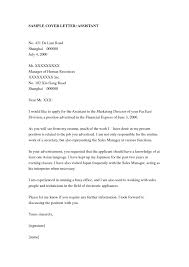Cover Letter Cover Letter Sample For Executive Assistant Position