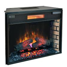 full image for in plus infrared electric fireplace insert ii300gra chimney free 33 reviews